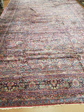Load image into Gallery viewer, Persian Kirman Rug, Antique Rug