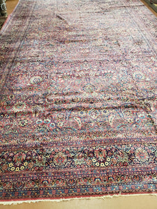 Persian Kirman Rug, Antique Rug