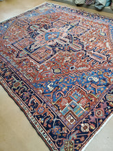 Load image into Gallery viewer, Antique Heriz Rug
