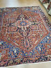Load image into Gallery viewer, SOLD Antique Heriz Rug, 1920s Carpet SOLD