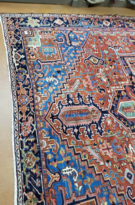 SOLD Antique Heriz Rug, 1920s Carpet SOLD