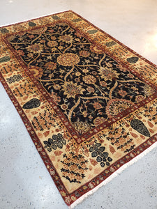 Traditional Indian Mughal Agra Rugs