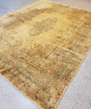Load image into Gallery viewer, antiqued kerman Rug HandKnoted in Iran