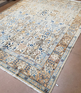 Persian Tabriz Rug Circa 1930s Antique Rug