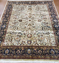 Load image into Gallery viewer, Fine Indian Sarouk Rug
