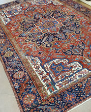 Load image into Gallery viewer, Persian Heriz Carpet, Antique Rugs and Carpets Circa 1930s