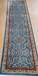 Tabriz Rug Runner, Indian Handknotted Rug