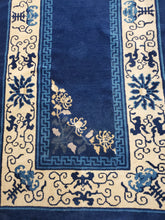 Load image into Gallery viewer, Chinese Rug, Rug Runner, Antique Rug, Circa 1880s