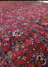 Load image into Gallery viewer, Persian Mashad Rug, Circa 1930s-40s