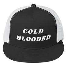 Load image into Gallery viewer, COLD BLOODED Black Hat
