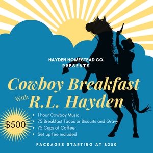 Cowboy Breakfast with R. L. Hayden