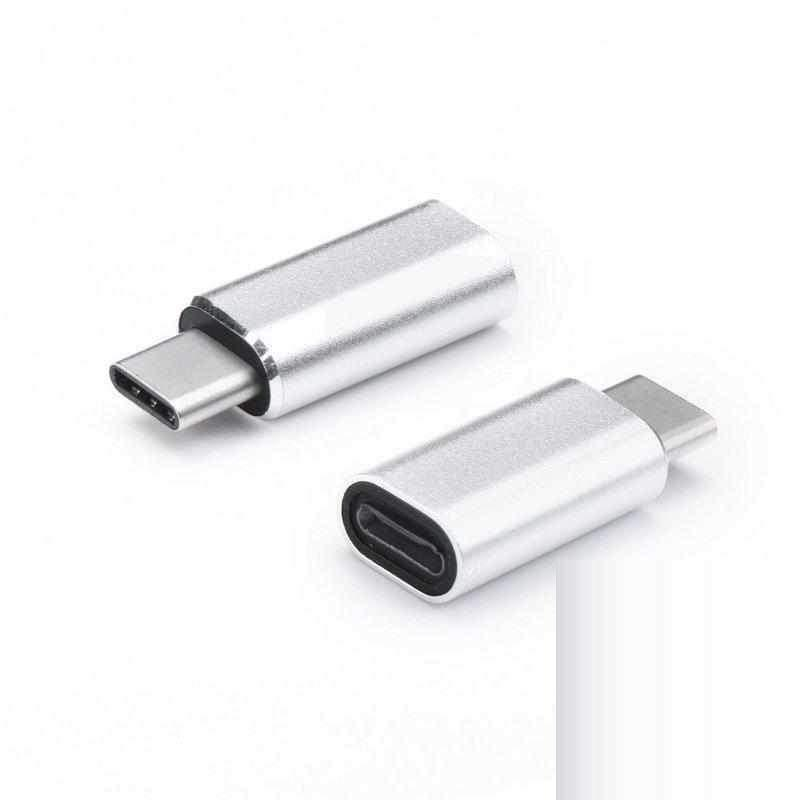 Adapter Lightning To Usb C Hõbedane-nutielu.ee