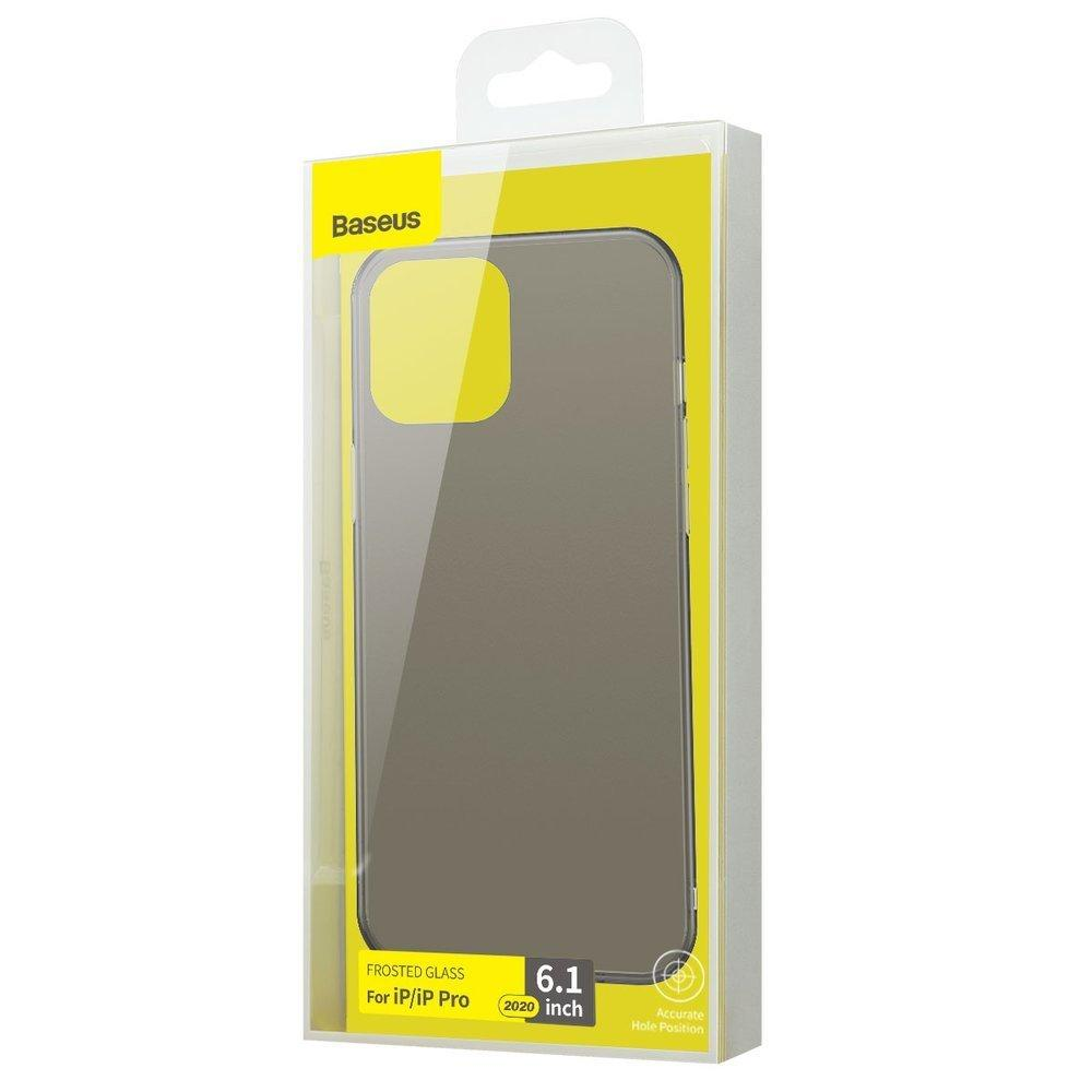 Baseus Wing Case Ultrathin case iPhone 12 Pro / iPhone 12 Black (WIAPIPH61N-01)-nutielu.ee