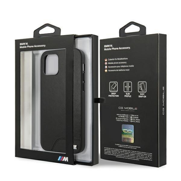 BMW BMHCP12MMHOLBK iPhone 12 Pro / iPhone 12 M Collection Smooth PU-nutielu.ee