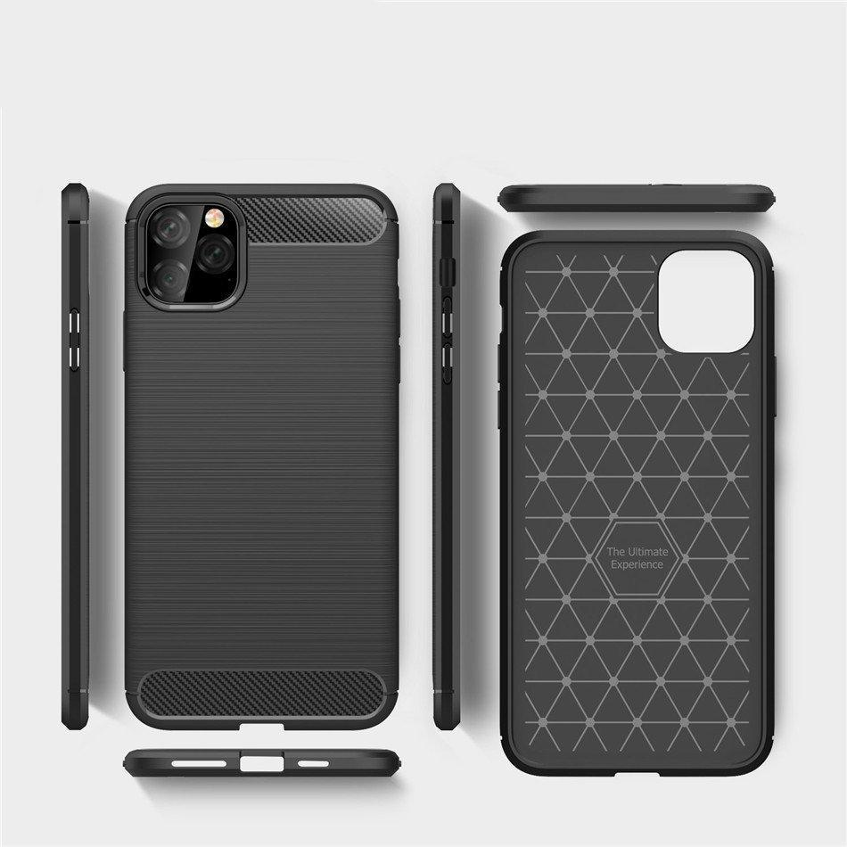 Carbon Flexible Tagakaas iPhone 11 Sinine-nutielu.ee