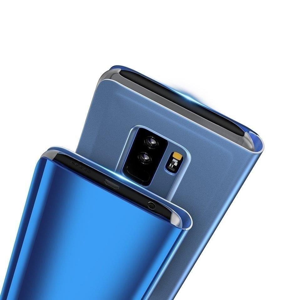 Clear View Case cover for Xiaomi Redmi 9C blue-nutielu.ee