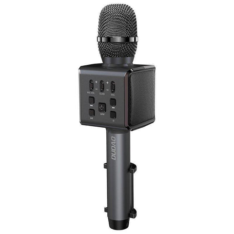 Dudao wireless bluetooth microphone for karaoke black (Y16 black)-nutielu.ee