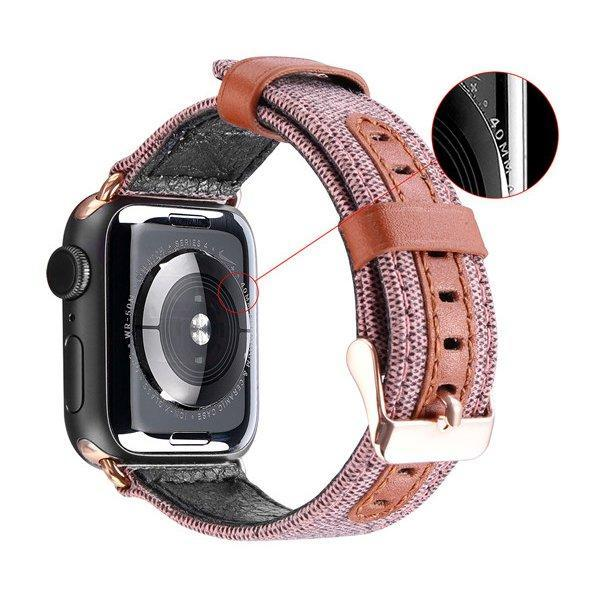 Dux Ducis Litchi Grain Band bracelet clasp for Watch 4 44mm / Watch 3 42mm / Watch 2 42mm / Watch 1 42mm Must-nutielu.ee