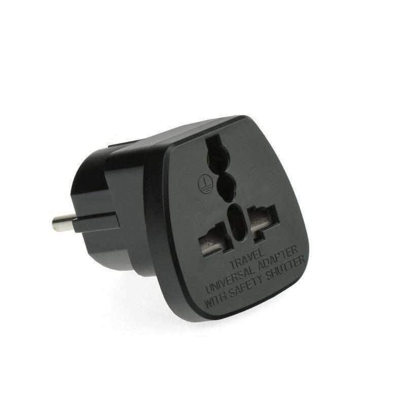 Eu-Uk Adapter Ac220V Qz36-9 Must-nutielu.ee