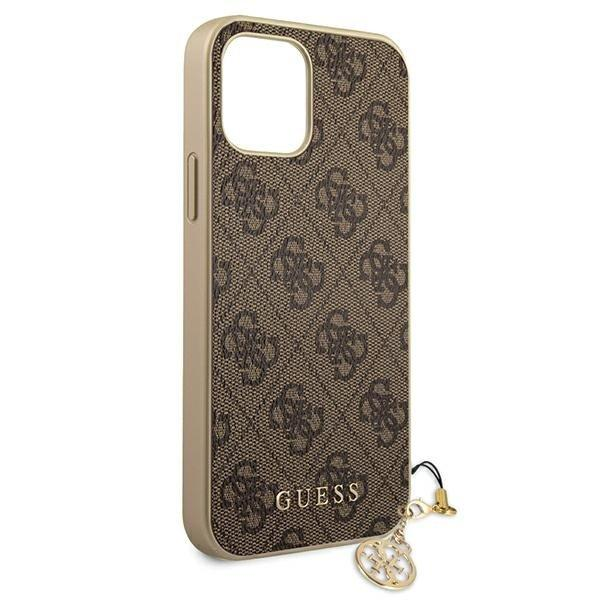 "Guess GUHCP12SGF4GBR iPhone 12 mini 5,4"" /brown 4G Charms Collection-nutielu.ee"
