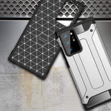 Hybrid Armor Case Tough Rugged Cover for Samsung Galaxy Note 20 Ultra black-nutielu.ee