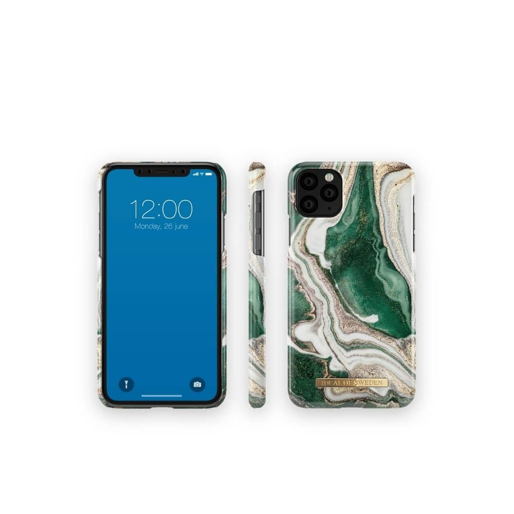 iDeal Of Sweden tagakaas iPhone 12/ 12 Pro Golden Jade Marble-nutielu.ee
