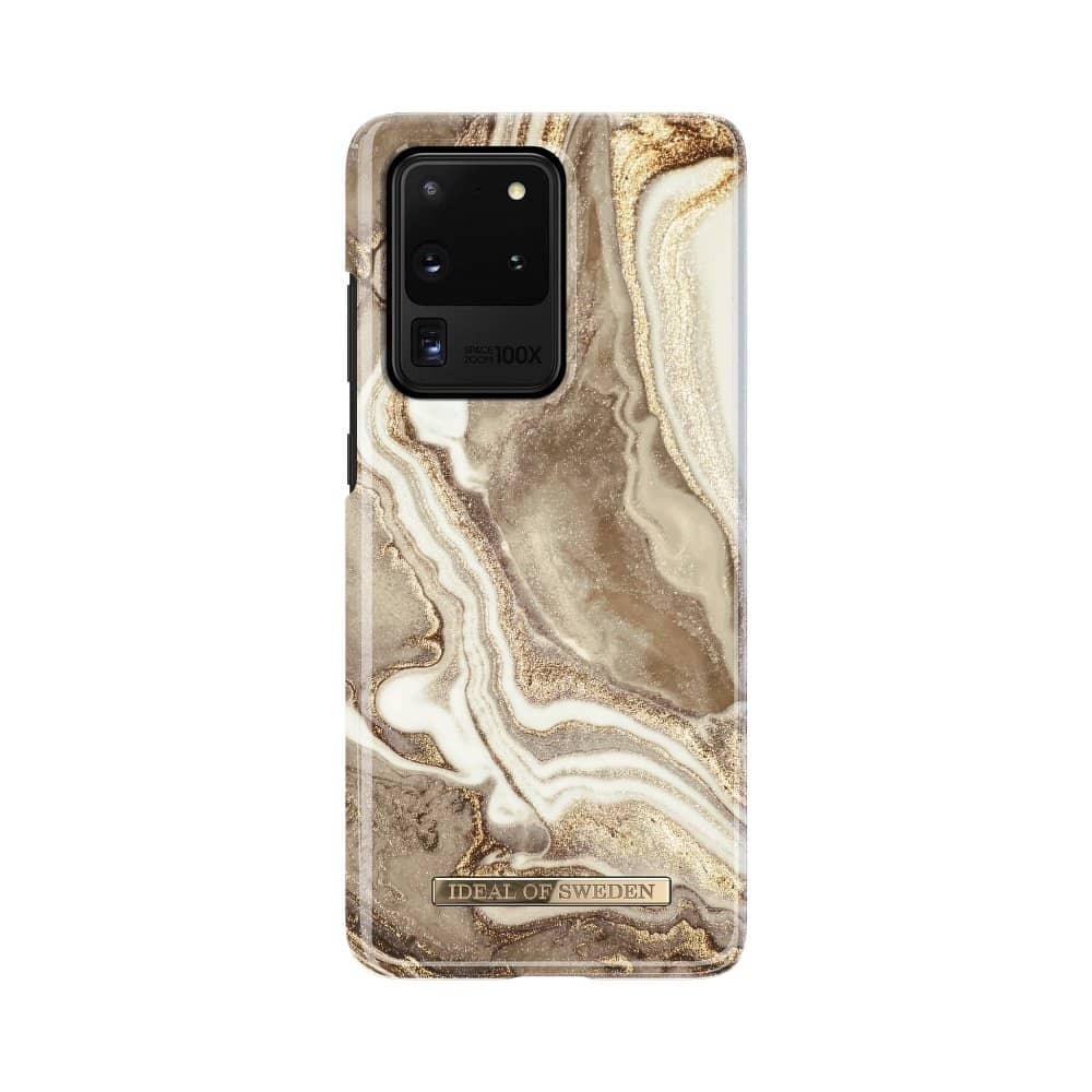 iDeal of Sweden tagakaas Samsung S20 ULTRA Golden Sand Marble-nutielu.ee