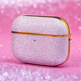 Kingxbar Bling shiny glitter case Protector for AirPods AirPods Pro pink-nutielu.ee
