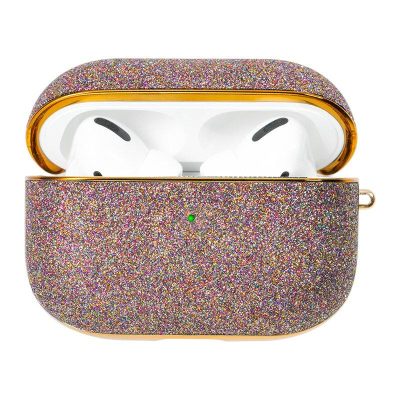 Kingxbar Bling shiny glitter case Protector for AirPods AirPods Pro purple-nutielu.ee