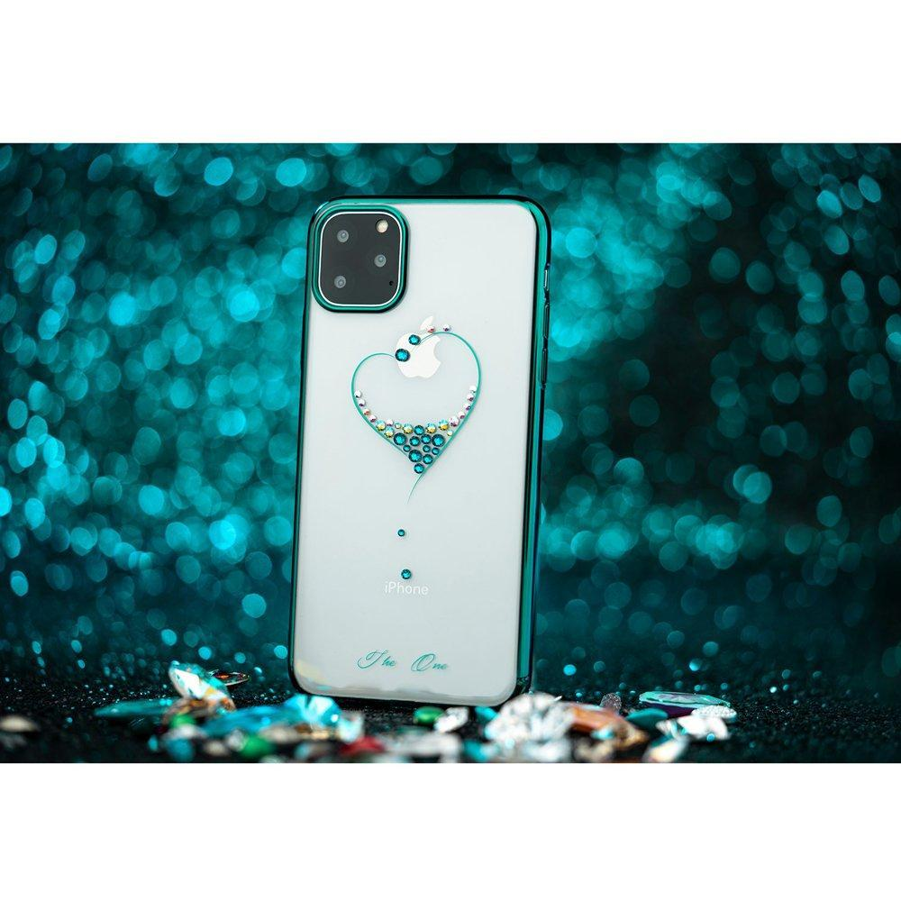 Kingxbar Wish Swarovski Crystals iPhone 11 Tagakaas Must-nutielu.ee