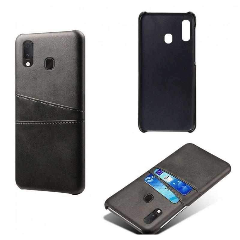 Leather Card Tagakaas Samsung Galaxy A50/A30s Must-nutielu.ee