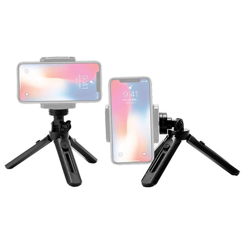 Mini Tripod with phone holder mount selfie stick camera GoPro holder black-nutielu.ee