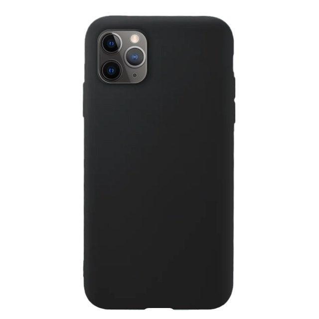 Silicone Soft Tagakaas iPhone 11 Pro Must-nutielu.ee