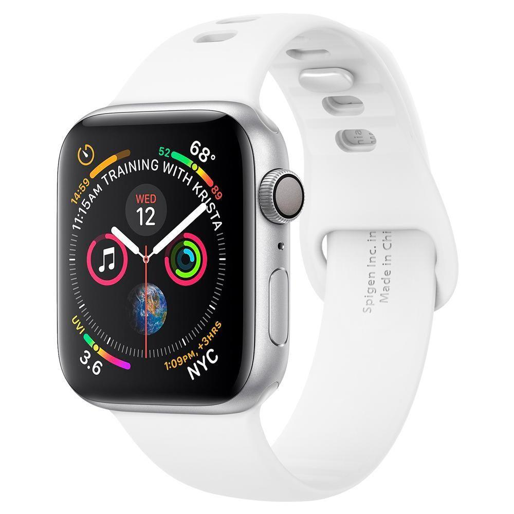 Spigen Air Fit kellarihm Apple Watch 1/2/3/4/5 (38/40MM) Valge-nutielu.ee