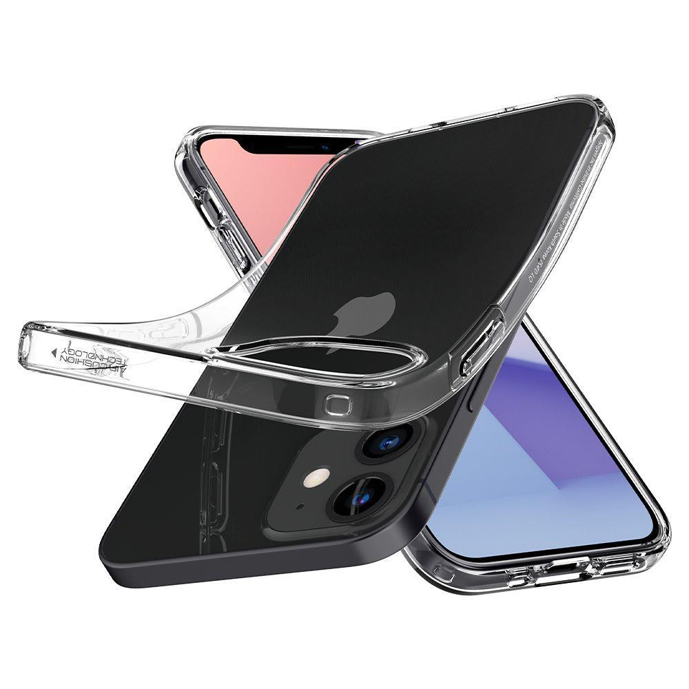 Spigen Liquid Crystal Iphone 12 Mini Crystal Clear-nutielu.ee