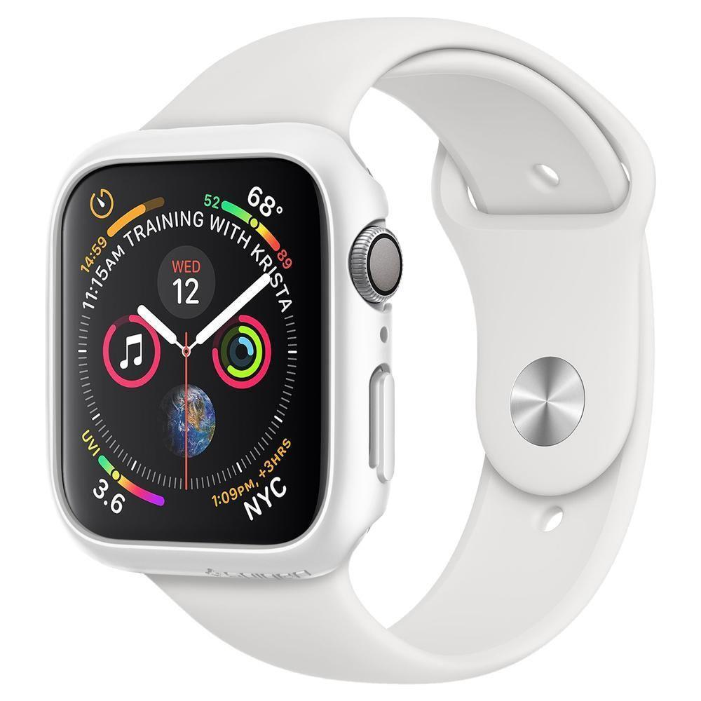Spigen Thin Fit Kaitse Apple Watch 4/5 (44MM) Valge-nutielu.ee