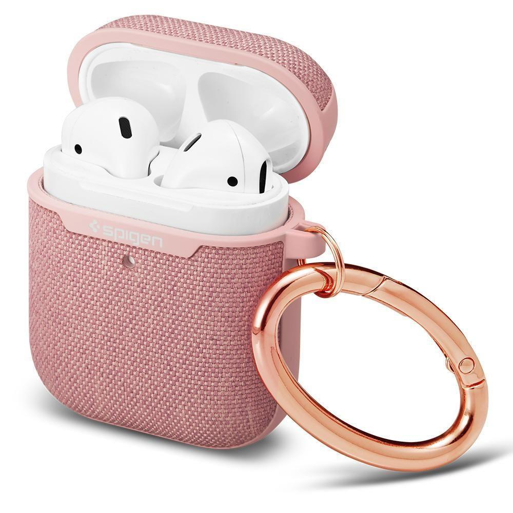 Spigen Urban Fit Airpods 1/2 Kaitseümbris Rose Gold-nutielu.ee