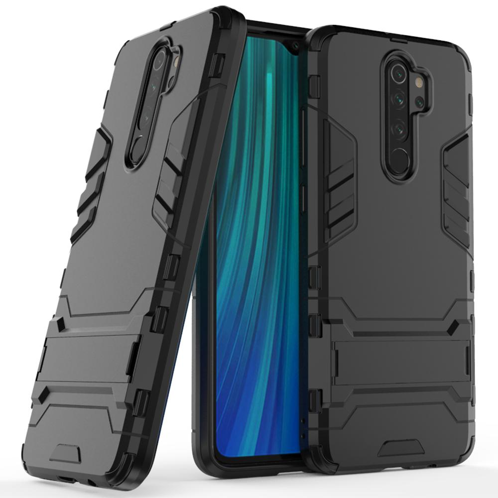Stand Armor Tagakaas Xiaomi Redmi Note 8 Pro Must-nutielu.ee