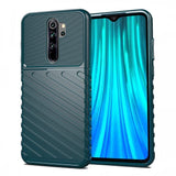 Thunder Case Flexible Tough Rugged Cover TPU Case for Xiaomi Redmi 9 green-nutielu.ee