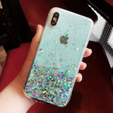 Wozinsky Star Glitter Shining Cover for Xiaomi Redmi 10X 4G / Xiaomi Redmi Note 9 transparent-nutielu.ee