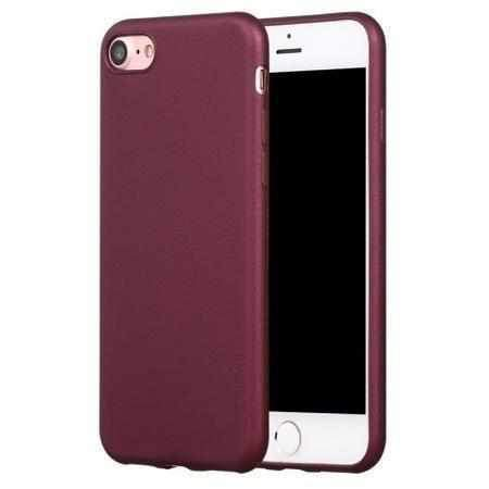 Xlevel Guardian Tagakaas iPhone 5/5S/Se Wine Red-nutielu.ee