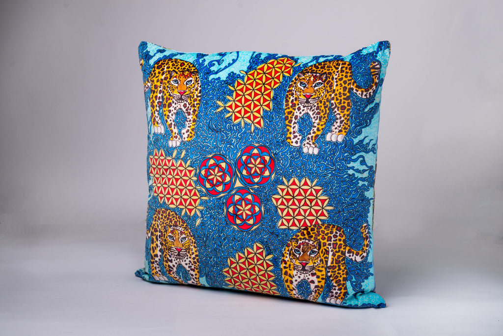 Luxury Velvet Cushion - LEOPARDS PRE-ORDER NOW OPEN!