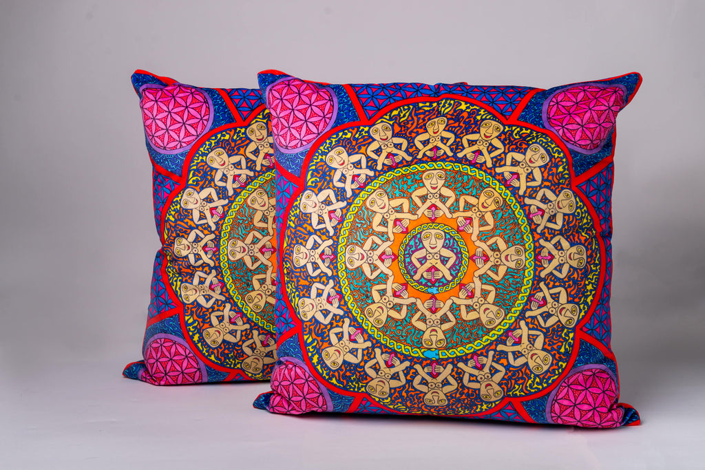 Luxury Velvet Cushion Sheela na Gig