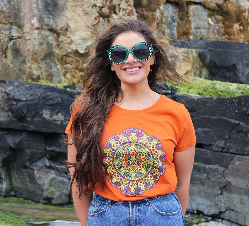 Limited Edition Sile T-Shirt Orange