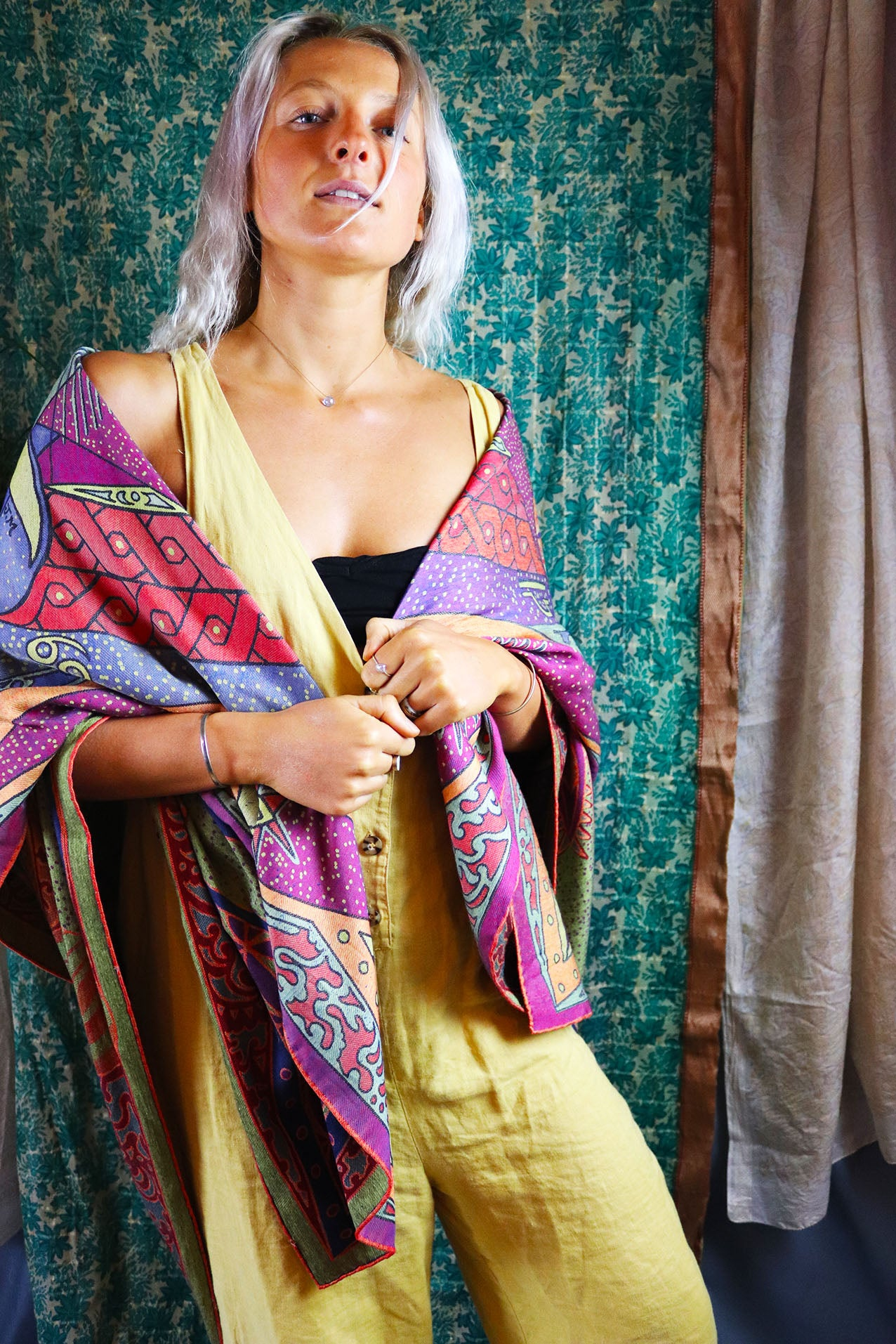 The 'Anu' Silk & Viscose Weave