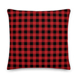 Buffalo Check Throw Pillow - Shabaca Designs
