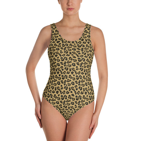Lovely Leopard Swimsuit - Shabaca Designs