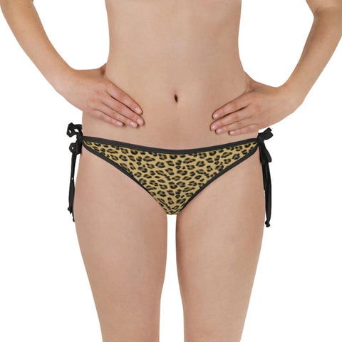 Lovely Leopard Reversible Bikini Bottom - Shabaca Designs