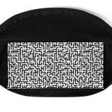 Endless Maze Belt Bag - Shabaca Designs