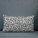Endless Maze Throw Pillow - Shabaca Designs
